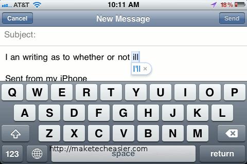 Er du træt at at når du sidder og skriver en SMS at din iPhone bliver ved med at rette dig, fordi den mener at du mener noget andet end […]